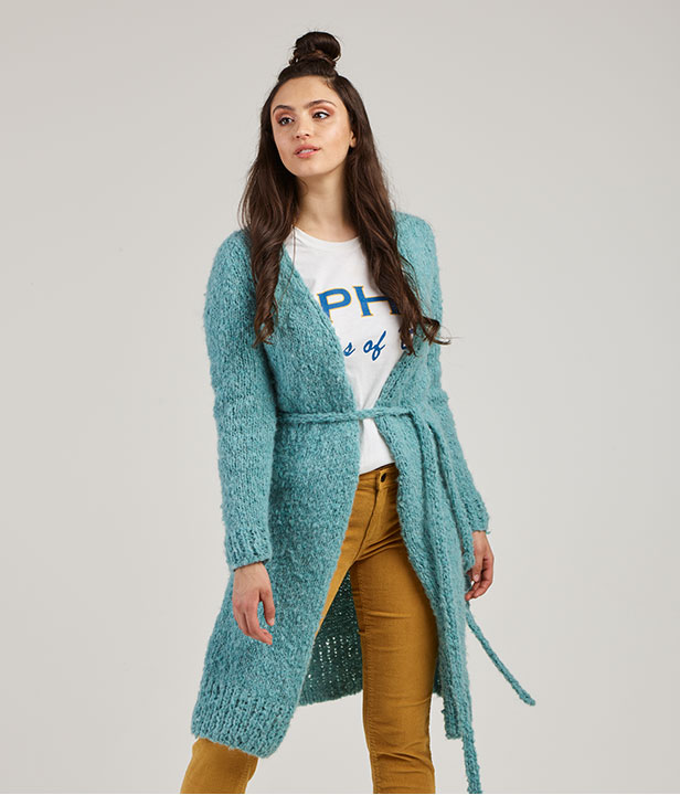 Truly Madly Deeply Wrap Cardi
