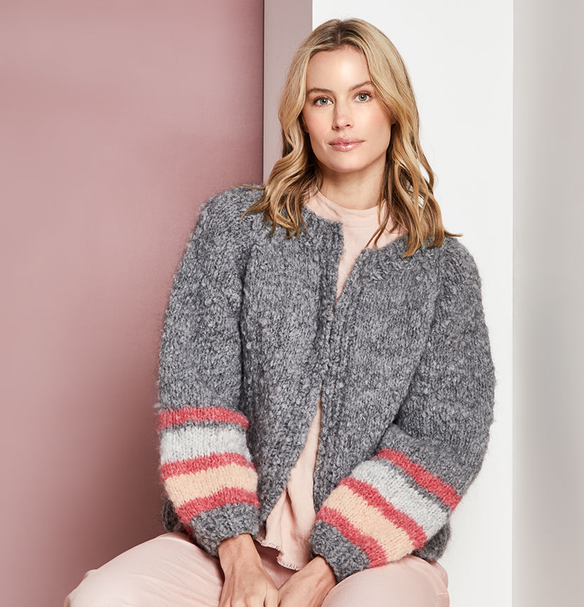 Abbey Road Truly Madly Mohair Blend Cardigan Project