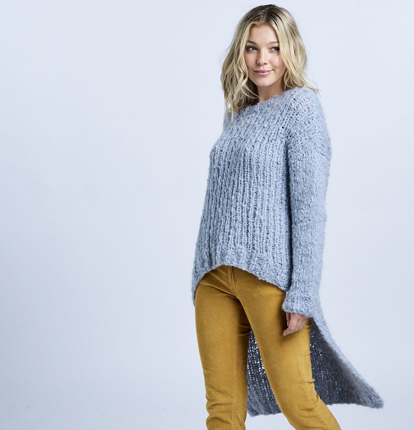 Abbey Road Truly Madly Mohair Long Back Jumper Project
