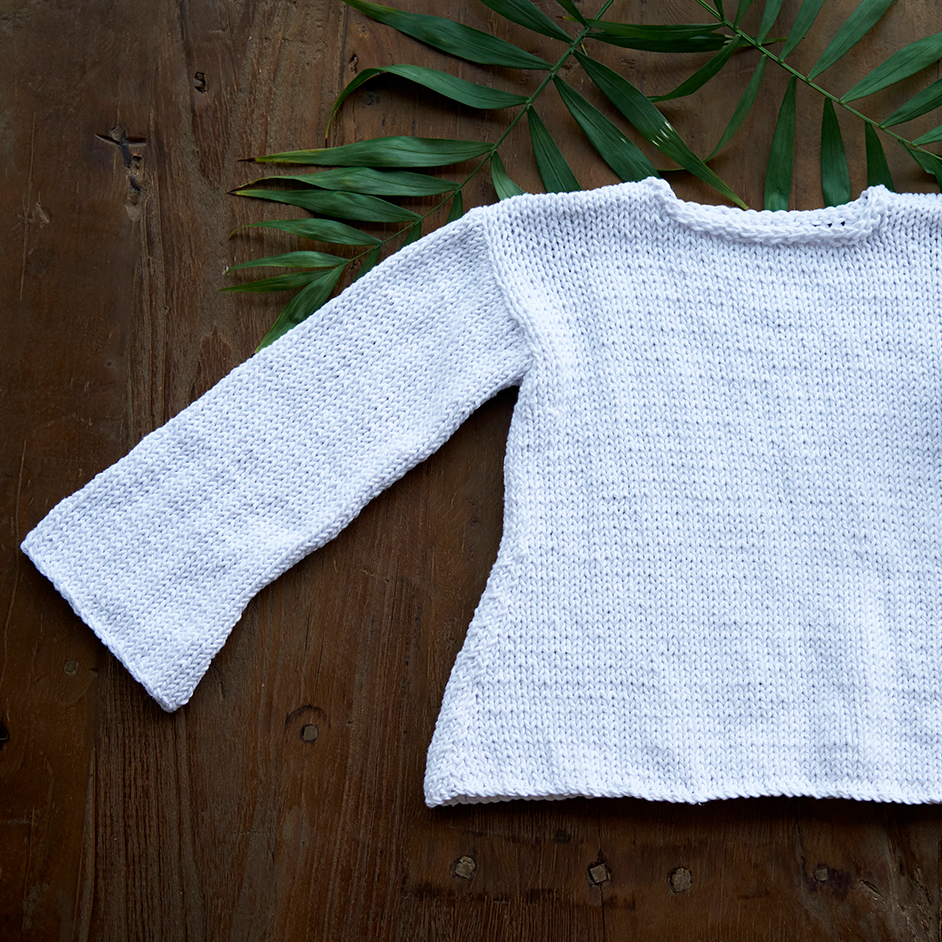 Anette Eriksson Eco Cotton XL Girls Flared Jumper Project