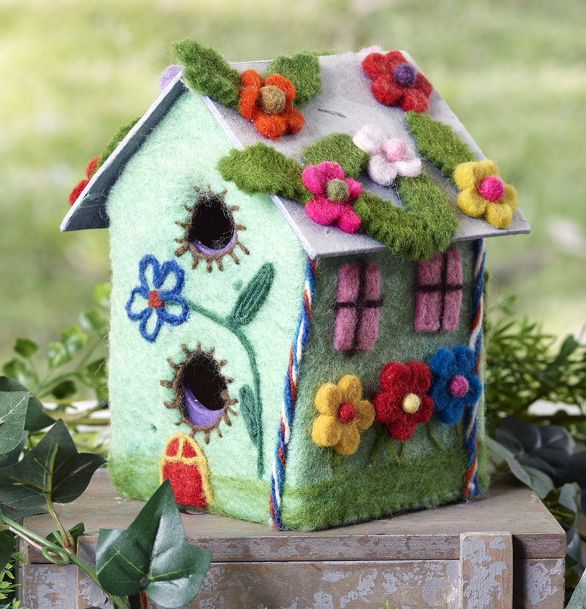 Arbee Wool Felted Fairy House Project