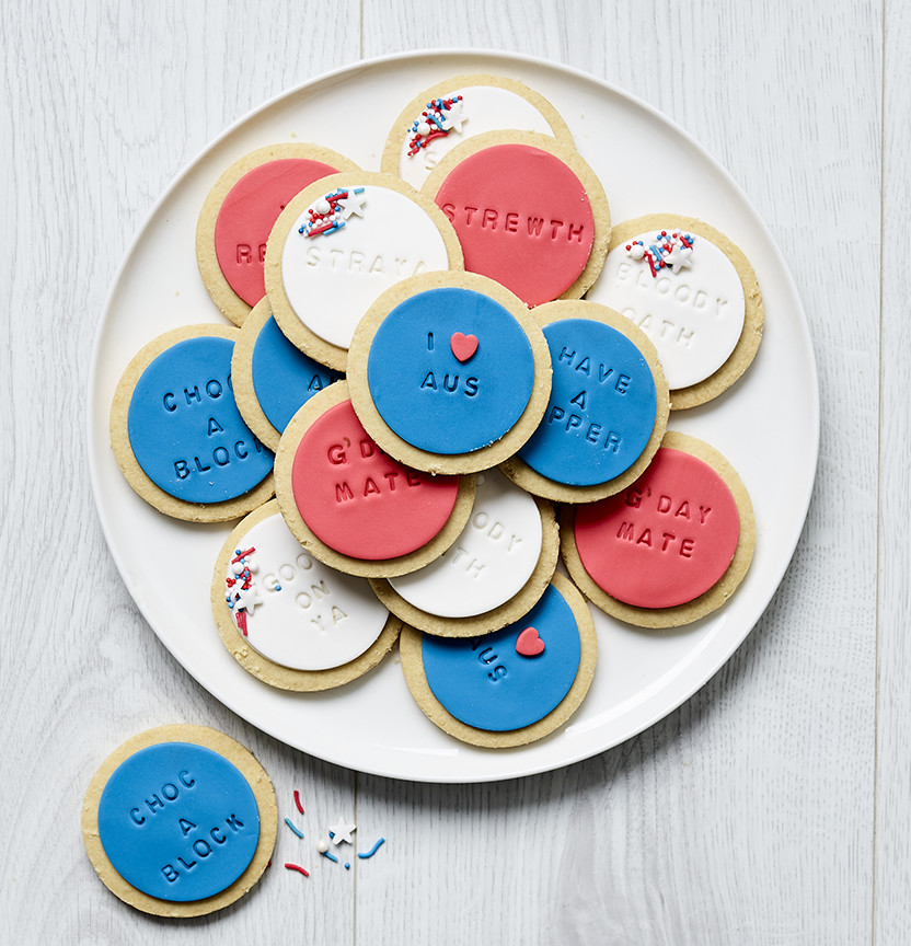 Australia Day Cookies Project