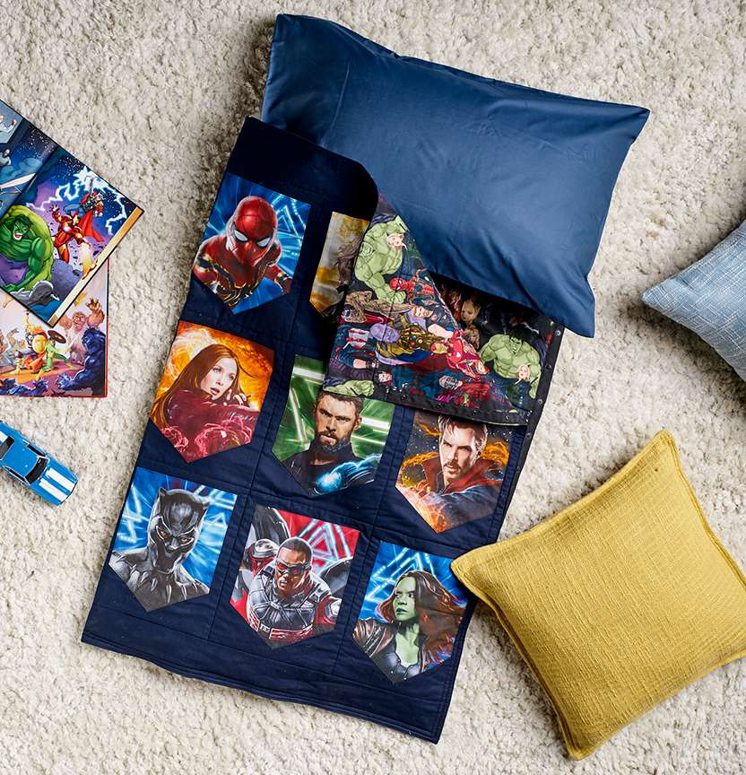 Avengers Sleeping Bag Project