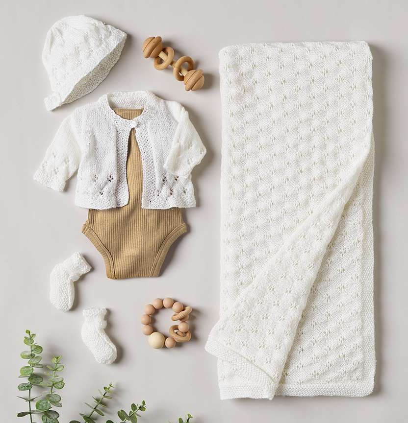 Baby Layette Baby Wonder 3ply Project