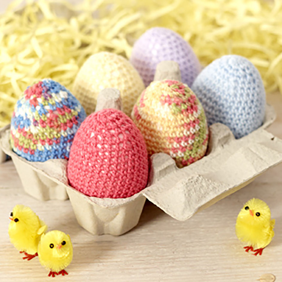 Baby Wonder 4Ply Crochet Easter Eggs Project