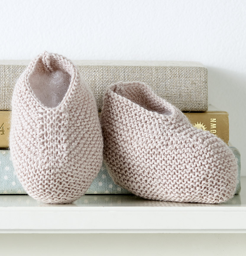 Baby Wonder Booties Project