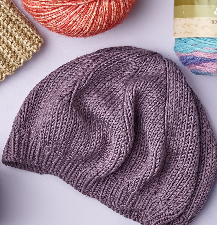Bambo Cotton Beret Project