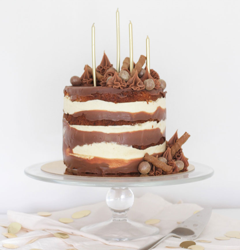 Banoffee Layer Cake Project
