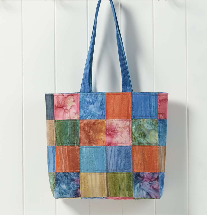 Batik Tote Bag Project