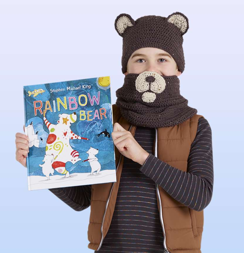 Bear Hat and Scarf Project
