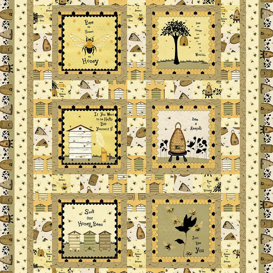 Bee Keeper Quilt Project