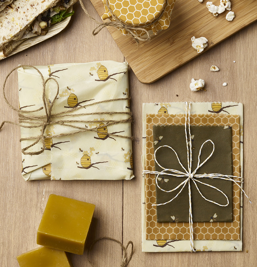 Beeswax Food Wrap Project