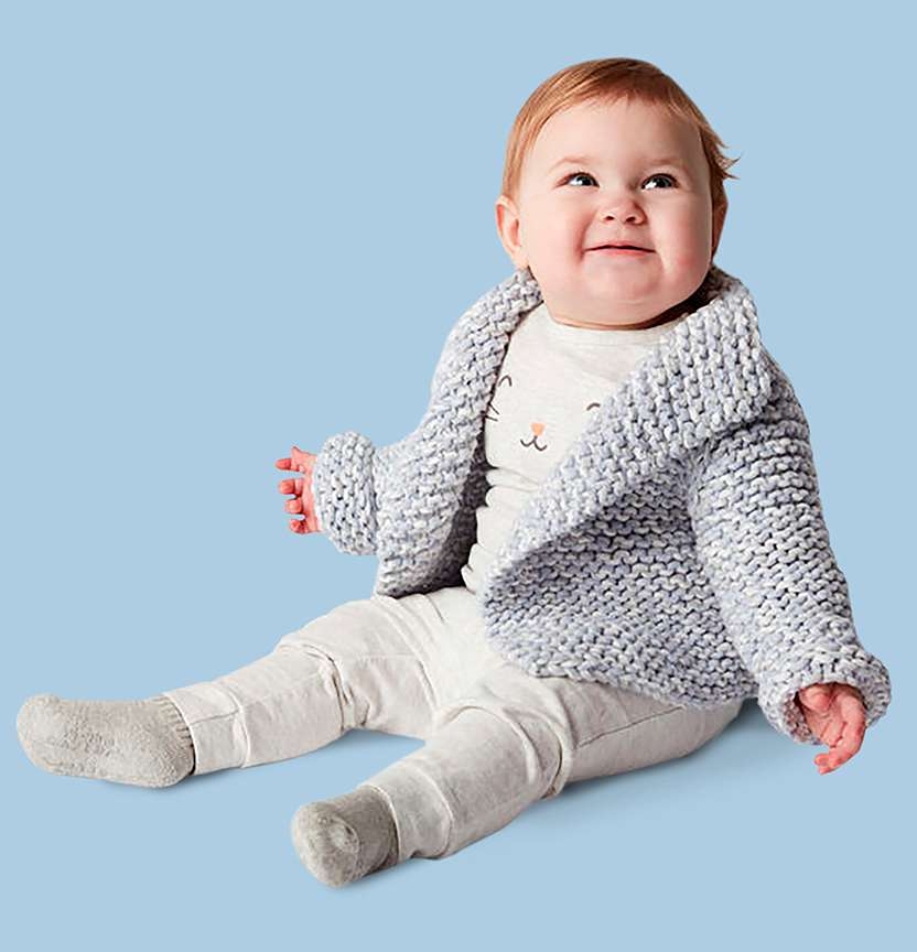 Bernat Baby Marly Jacket Project