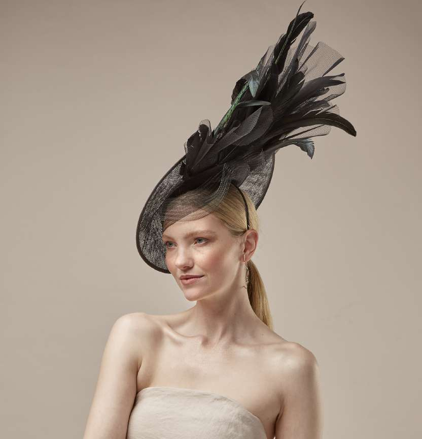 Black Feather Fascinator Project