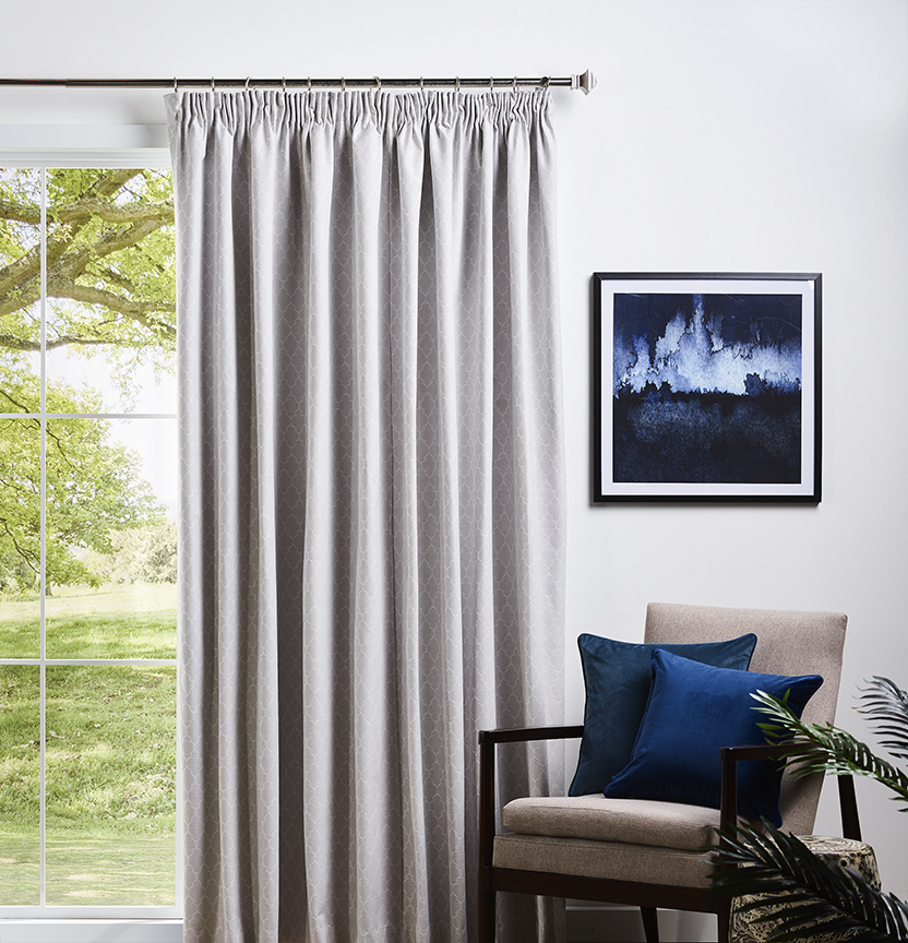 Blockout Pencil Pleat Curtains Project