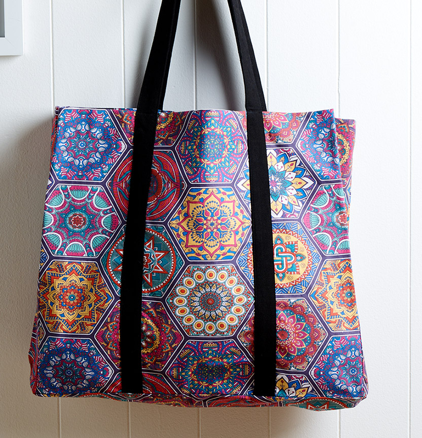 Boho Tote Bag Project