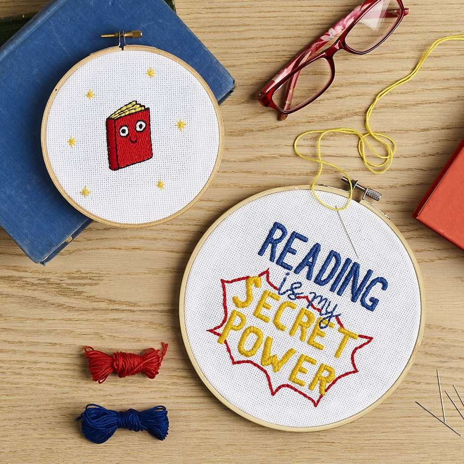 Book Week Embroidery Project