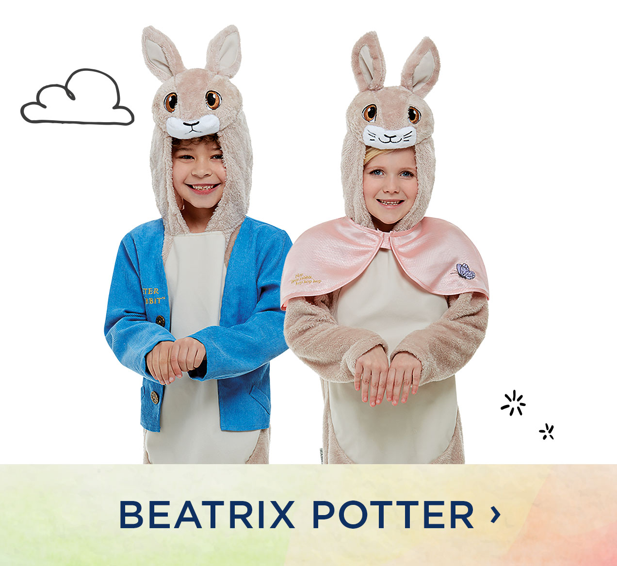 Beatrix Potter Costumes