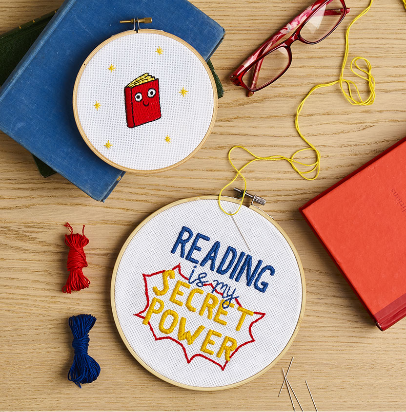 Book Week Embroidery