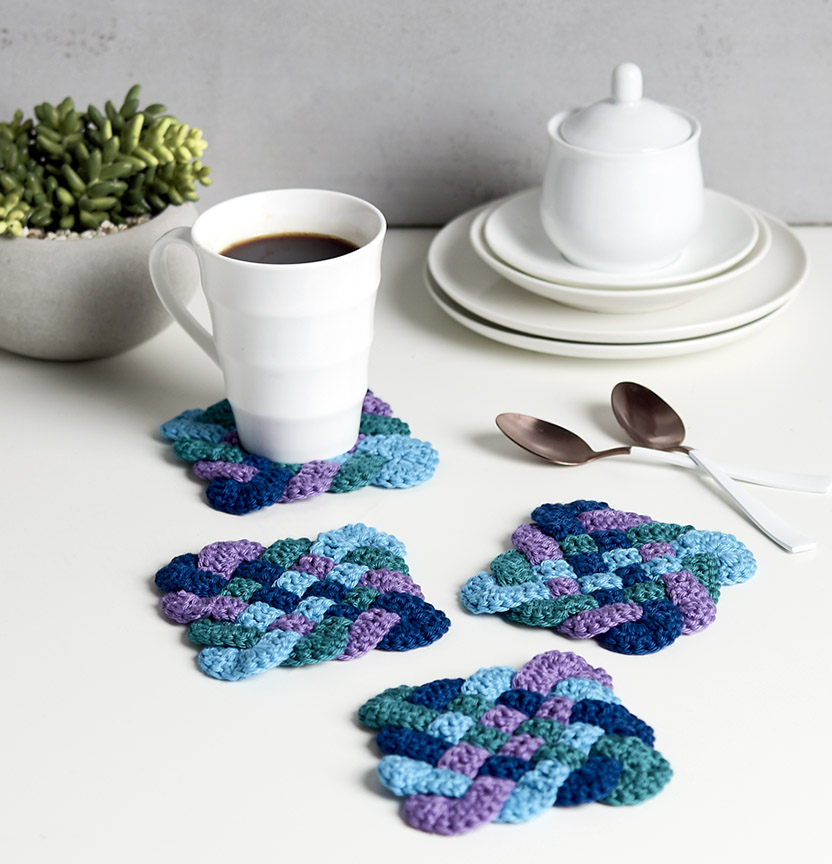 Brighton Cotton Blend Coasters Project