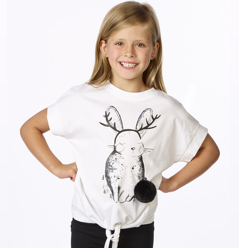 Bunny Motif T-Shirt Project