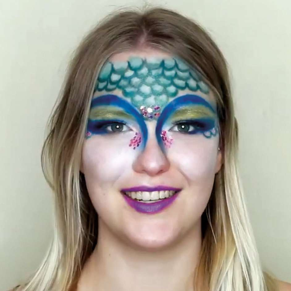 BYS Mermaid Make Up Project