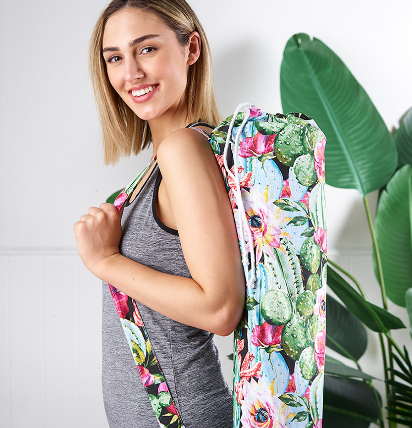 Cacti Yoga Bag Project