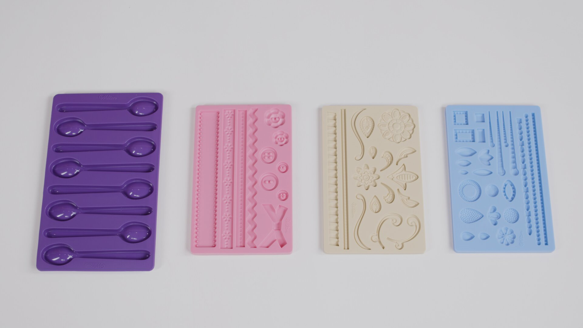 Choosing The Right Fondant Moulds