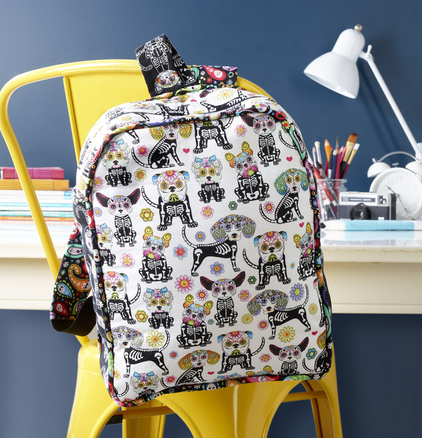 Calavera Kids Backpack Project
