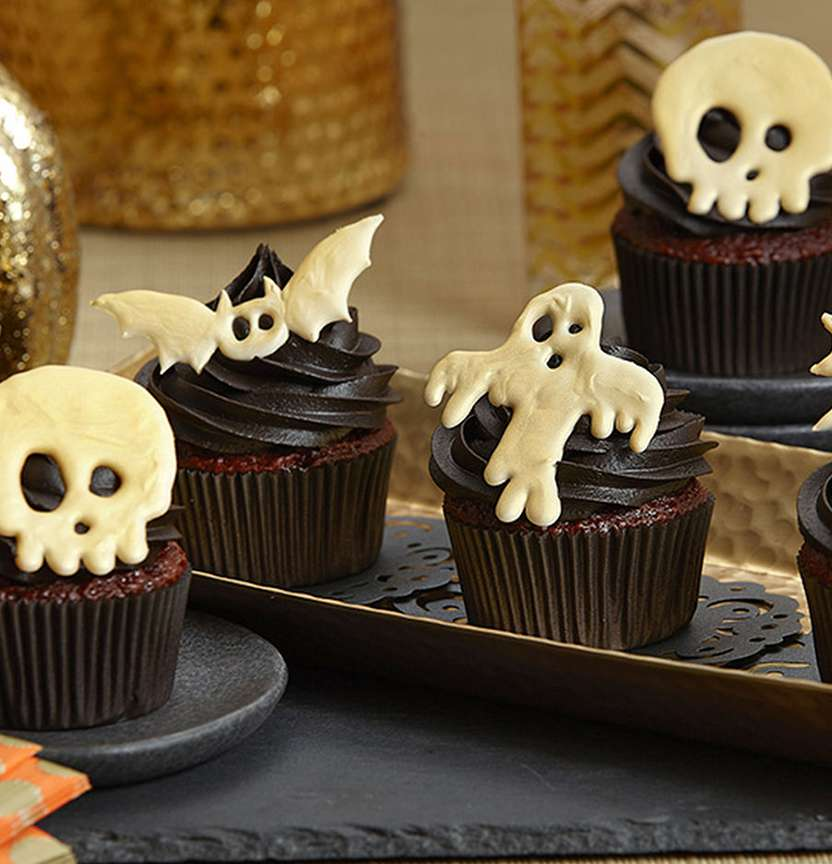 Candy Creeper Cupcakes Project
