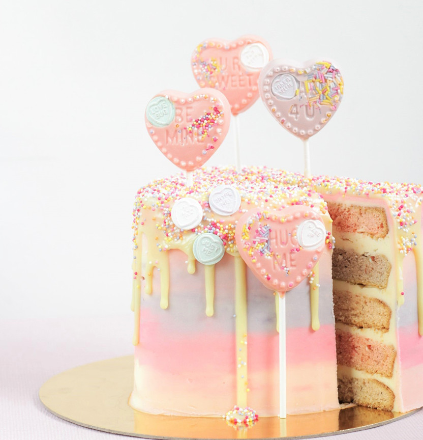 Candy Melt Cake Project