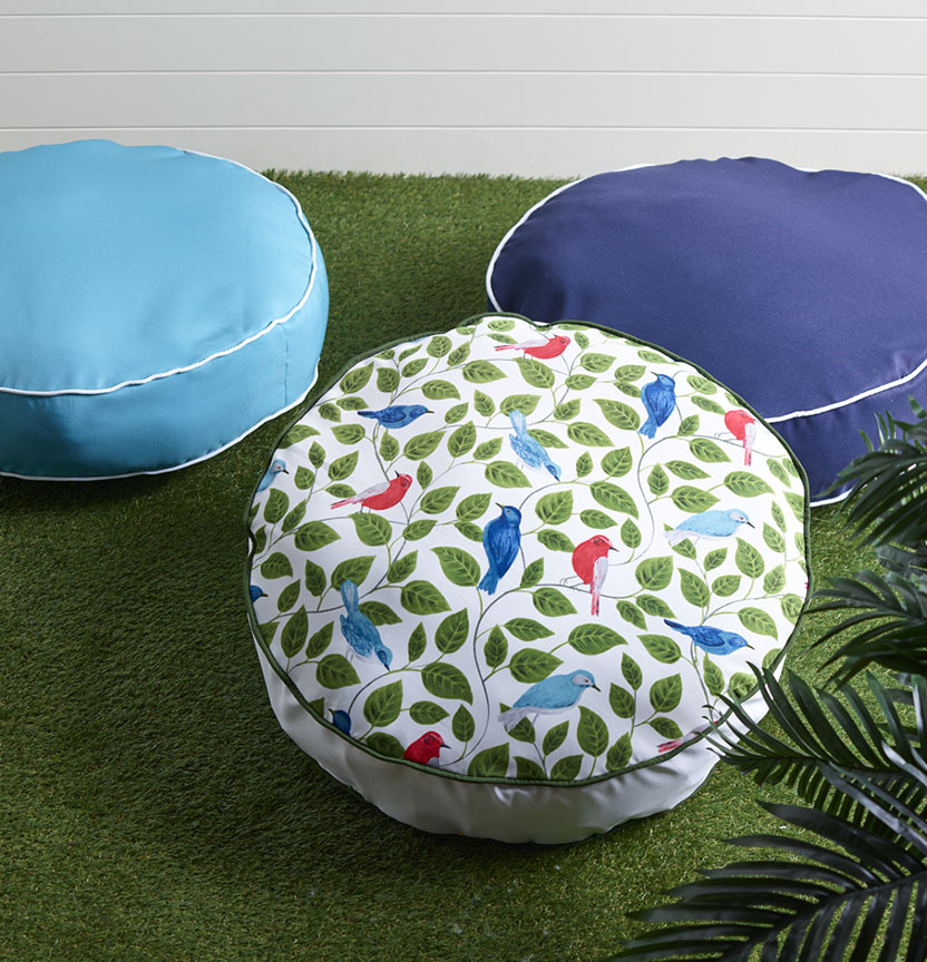 Canvas Floor Cushions Project