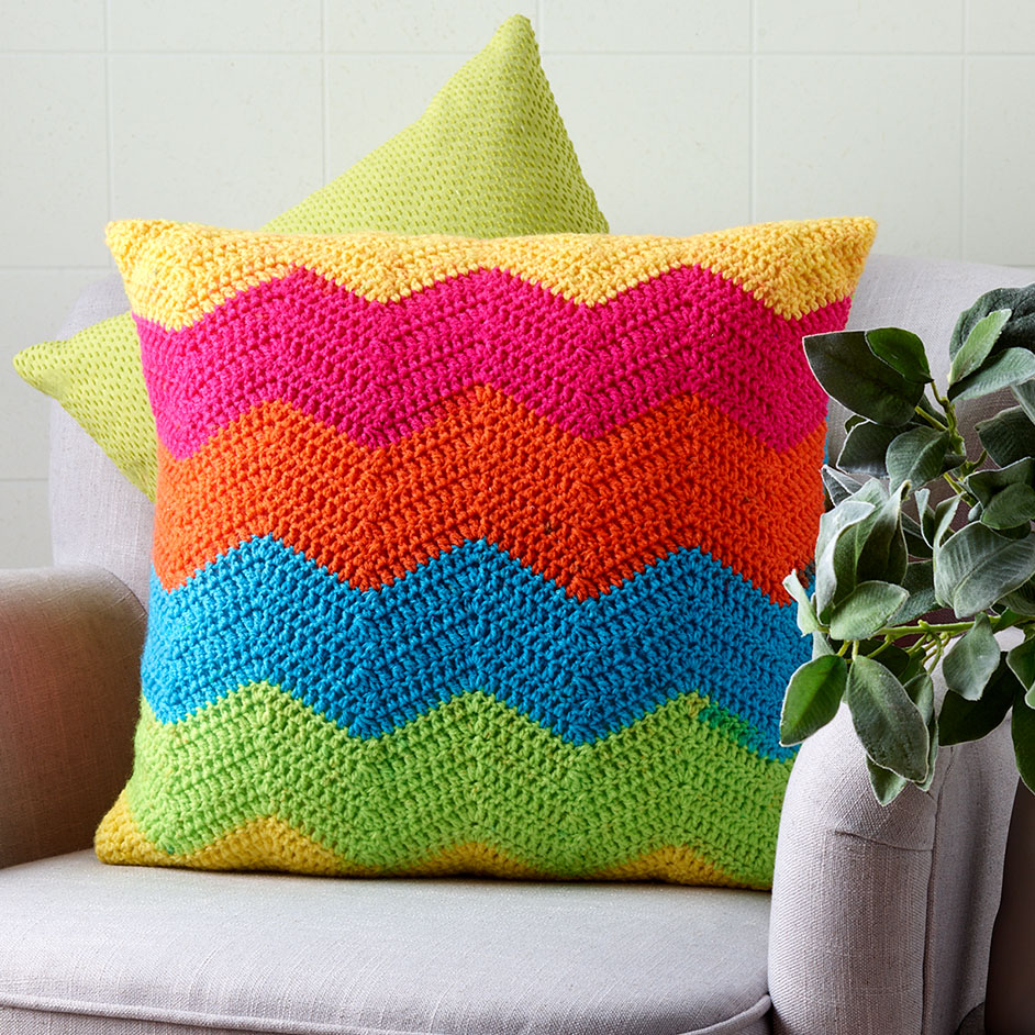 Carry Cakes Crochet Cushion Cover Project