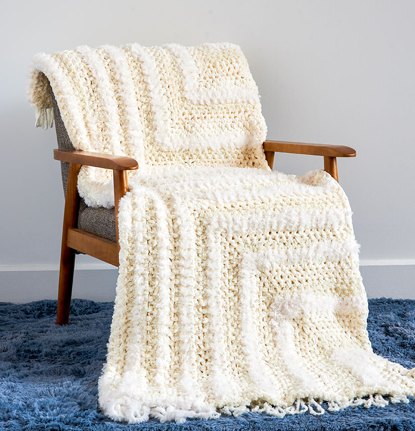 Casa Meet Me In The Middle Crochet Blanket Project