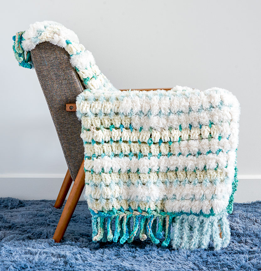 Casa Stacking Textures Crochet Blanket Project