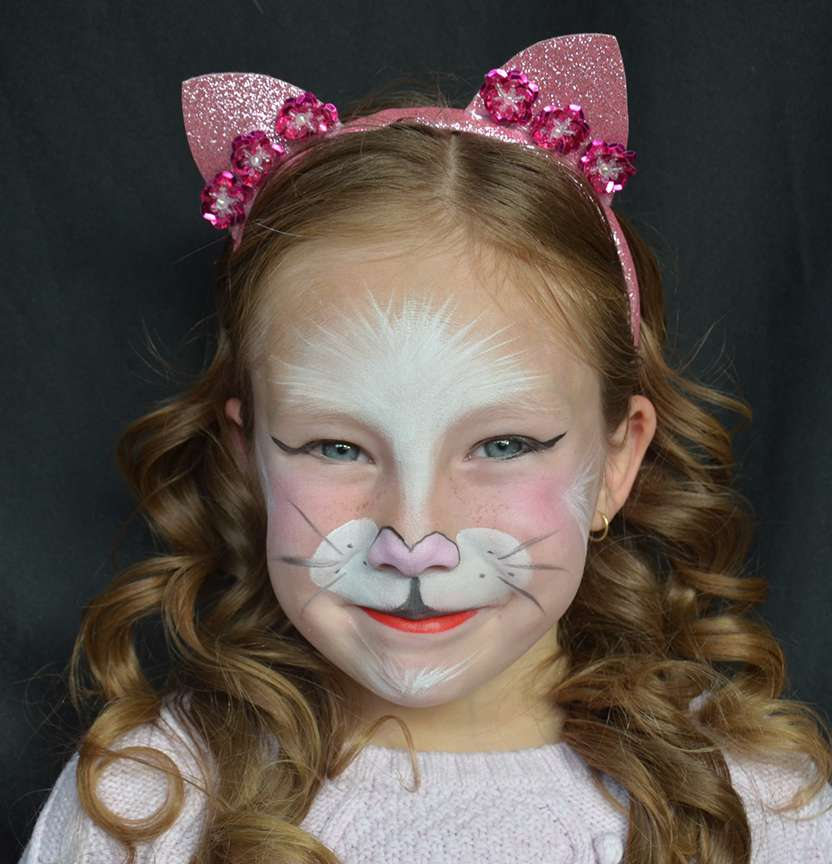 Cat Face Paint Project