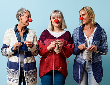Craft For A Cause - Red Nose Day