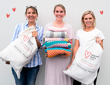 Craft For A Cause - Warming Hearts