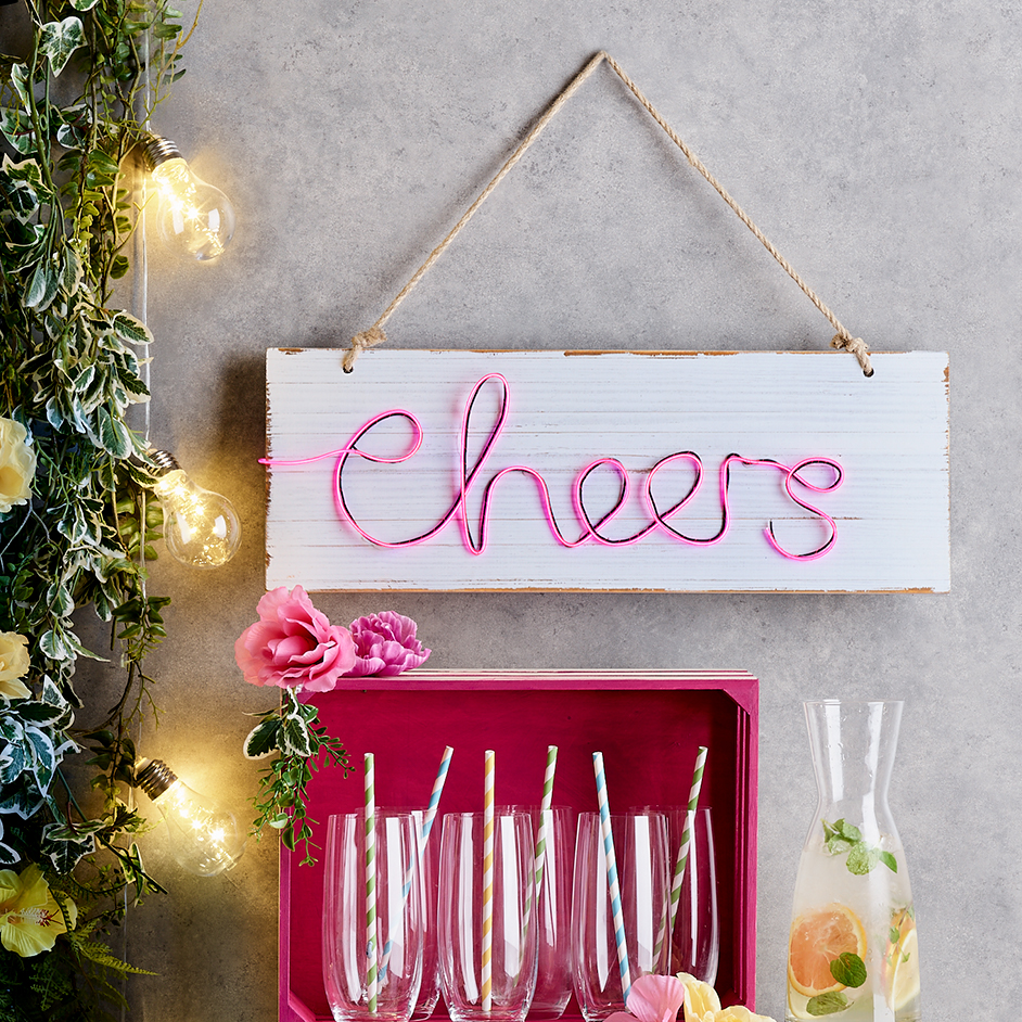 Cheers Neon Sign Project
