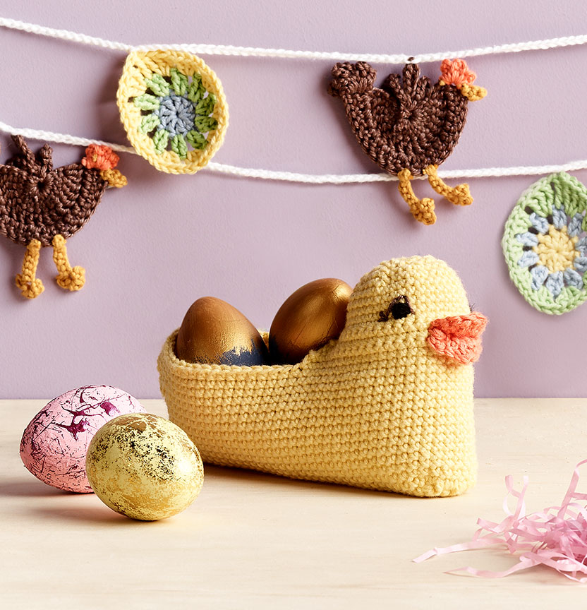 Chicken Lolly Basket & Garland Project