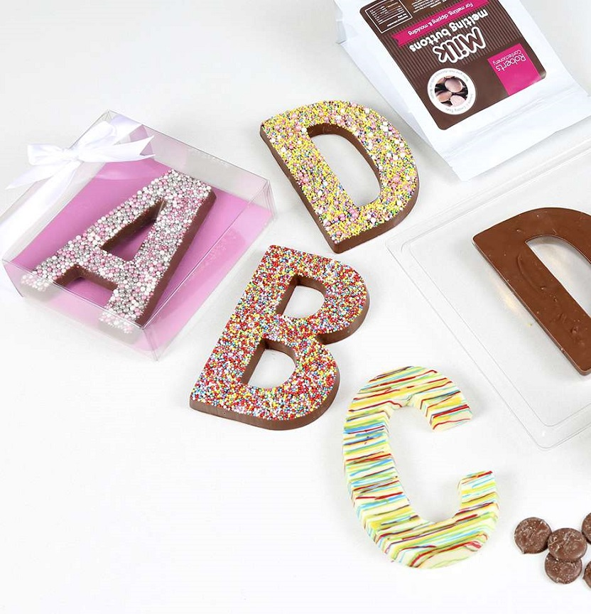 Chocolate Freckle Letter Project
