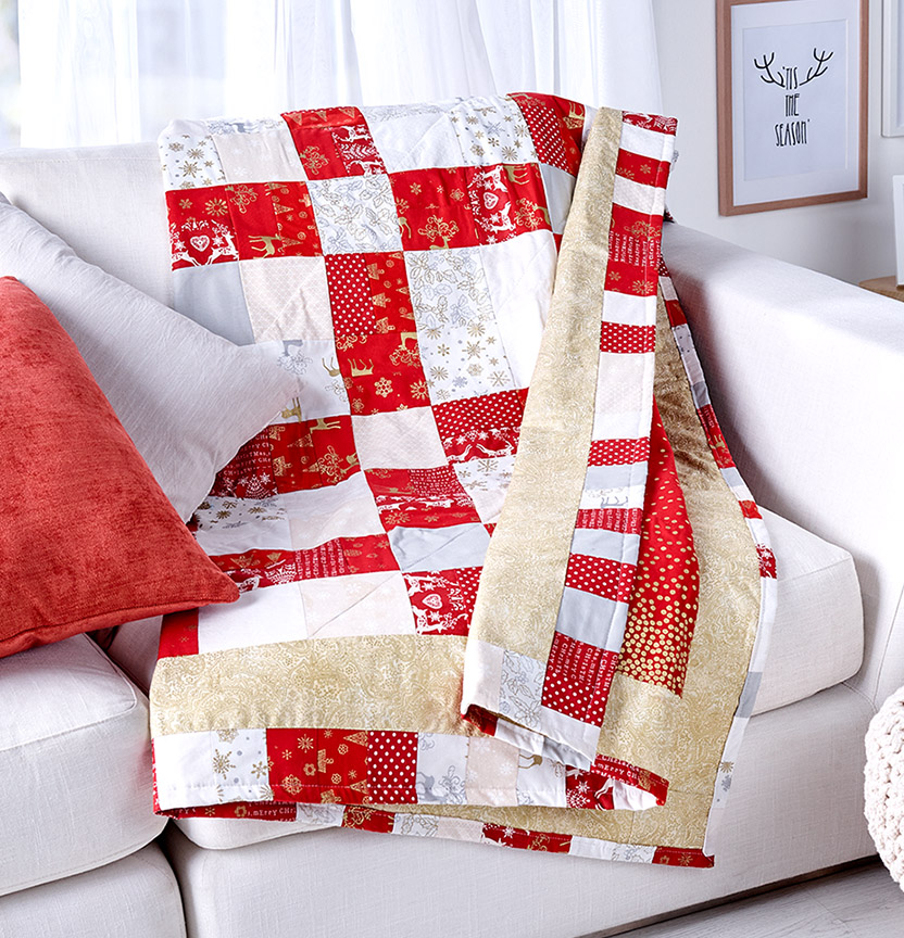 Christmas Bundles Quilt Project