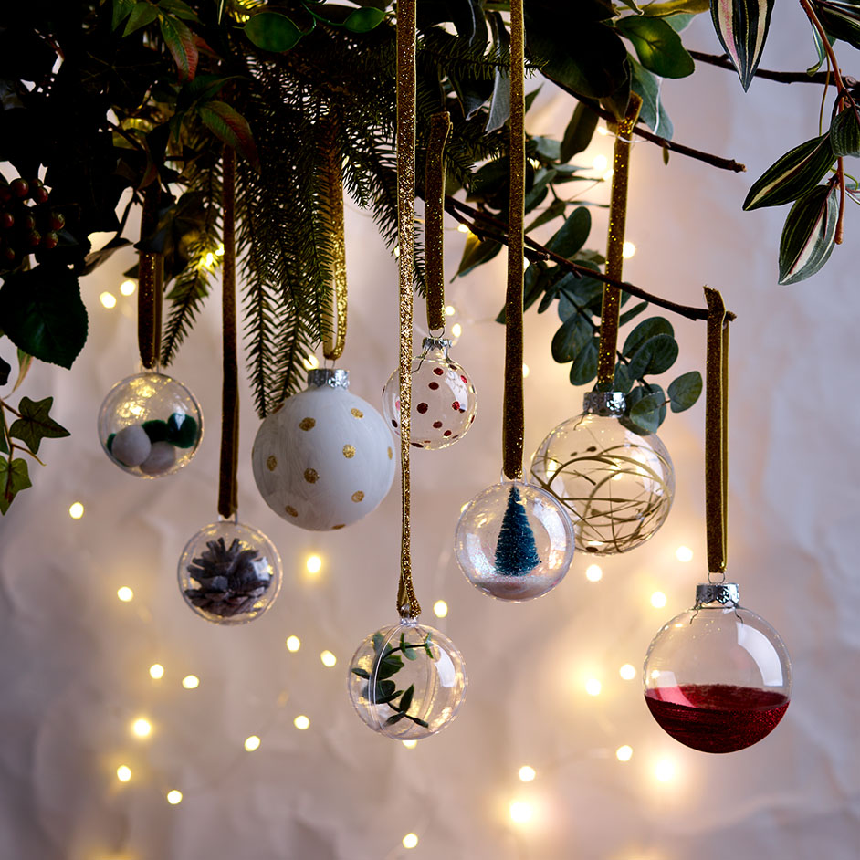 Christmas DIY Baubles Project