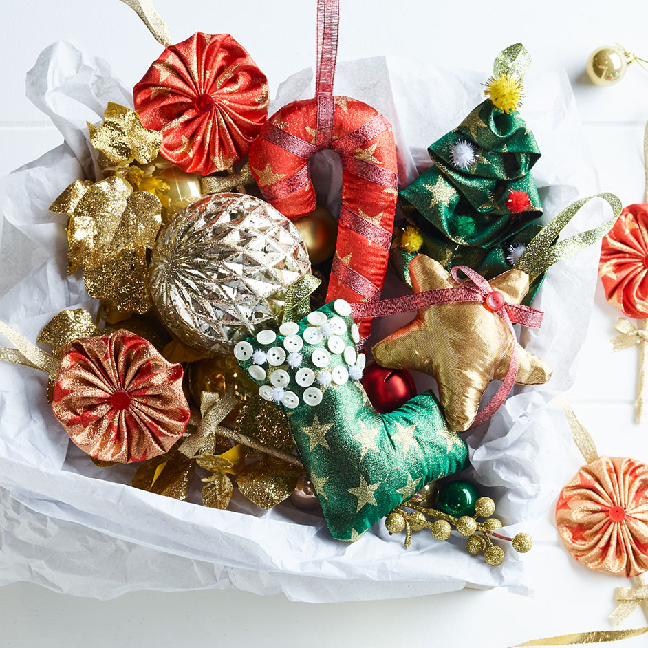 Christmas Metallics Decorations Project