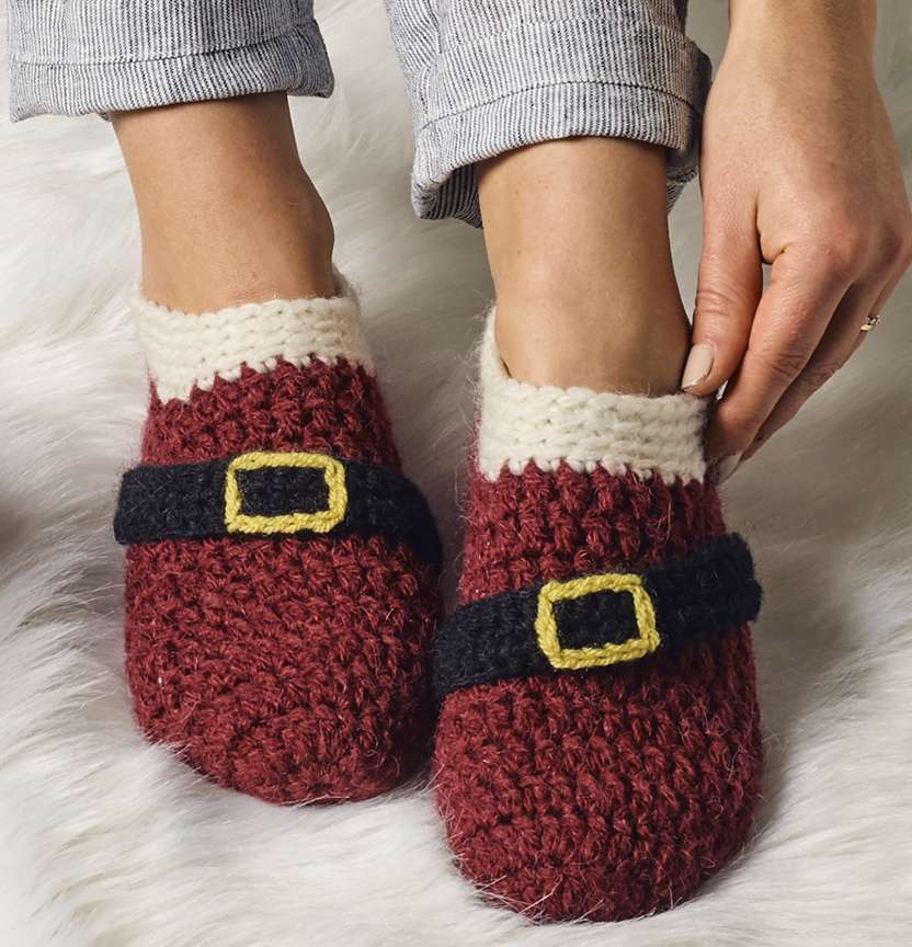 Christmas Slippers Project