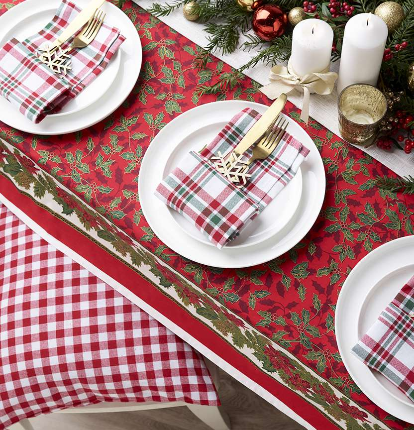 Christmas Table Setting Project