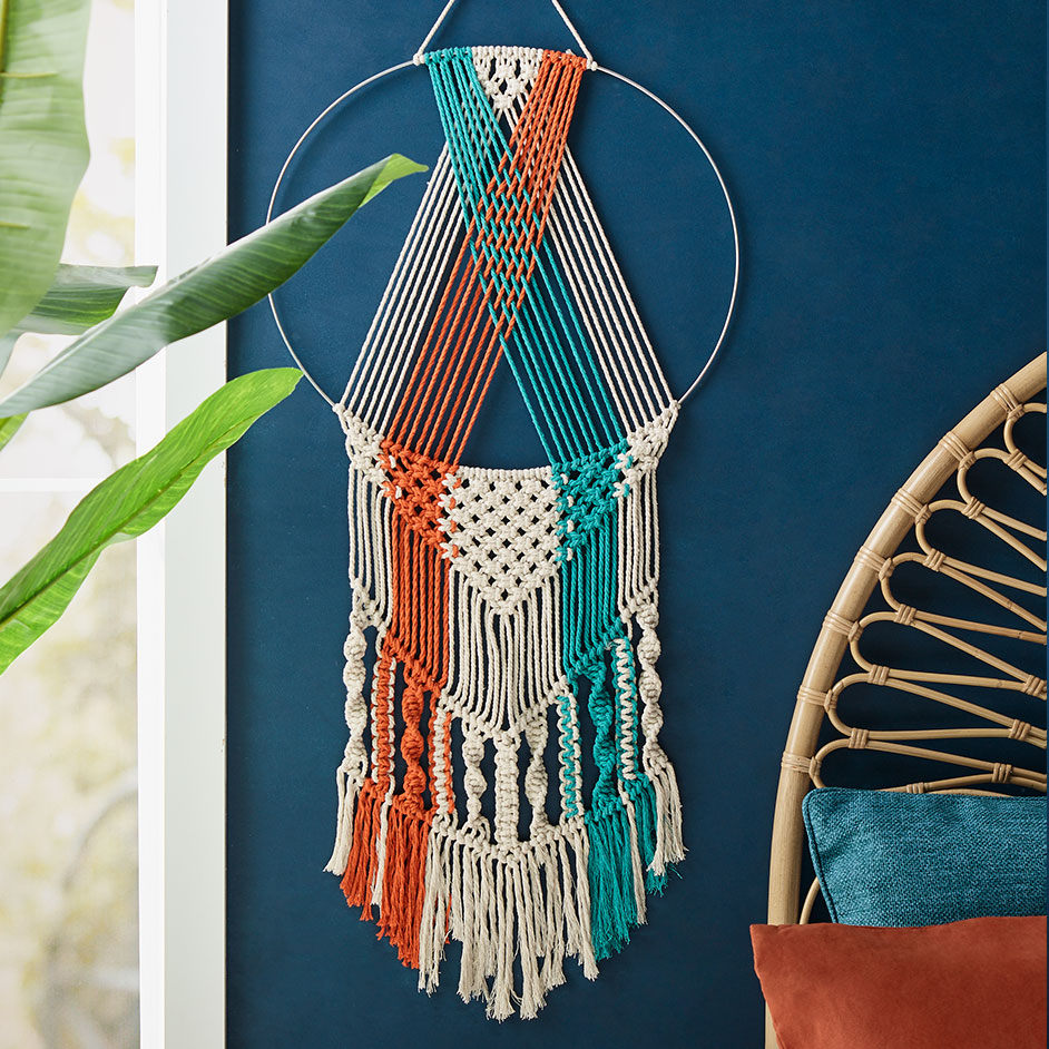 Circle Macrame Wall Hanging Project