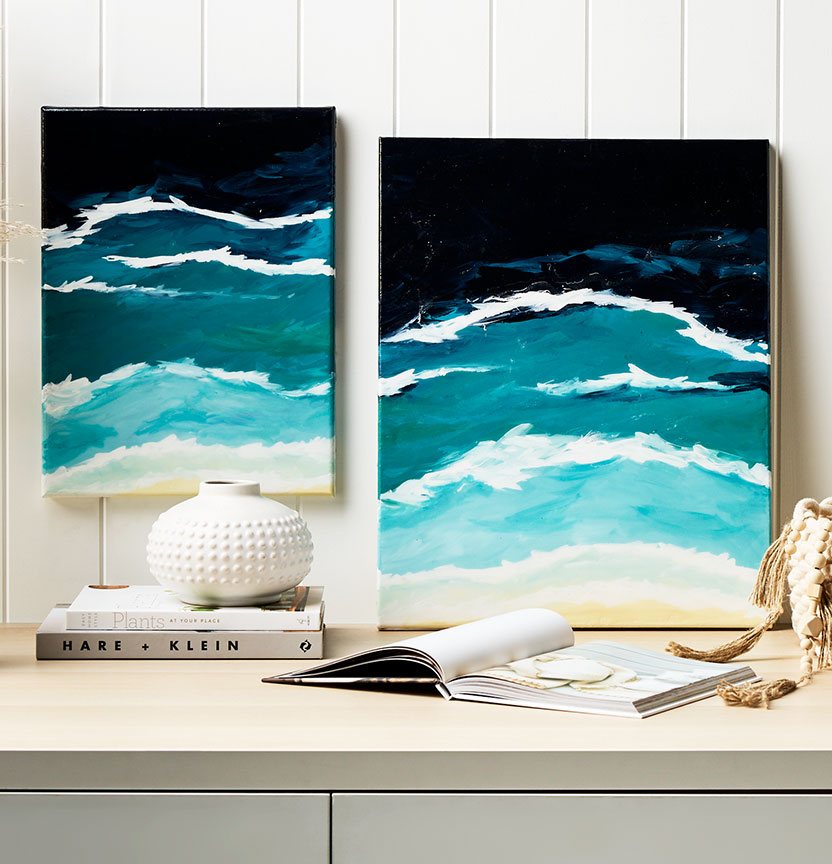 Coastal Resin Paintings Project