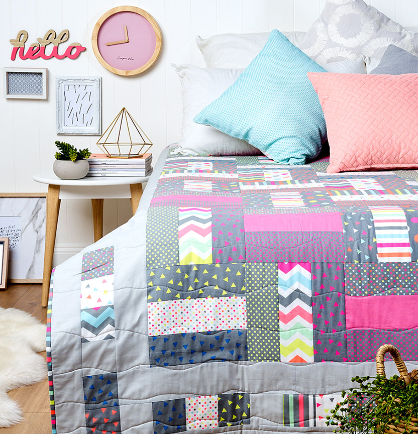 Colour Pop Quilt Project