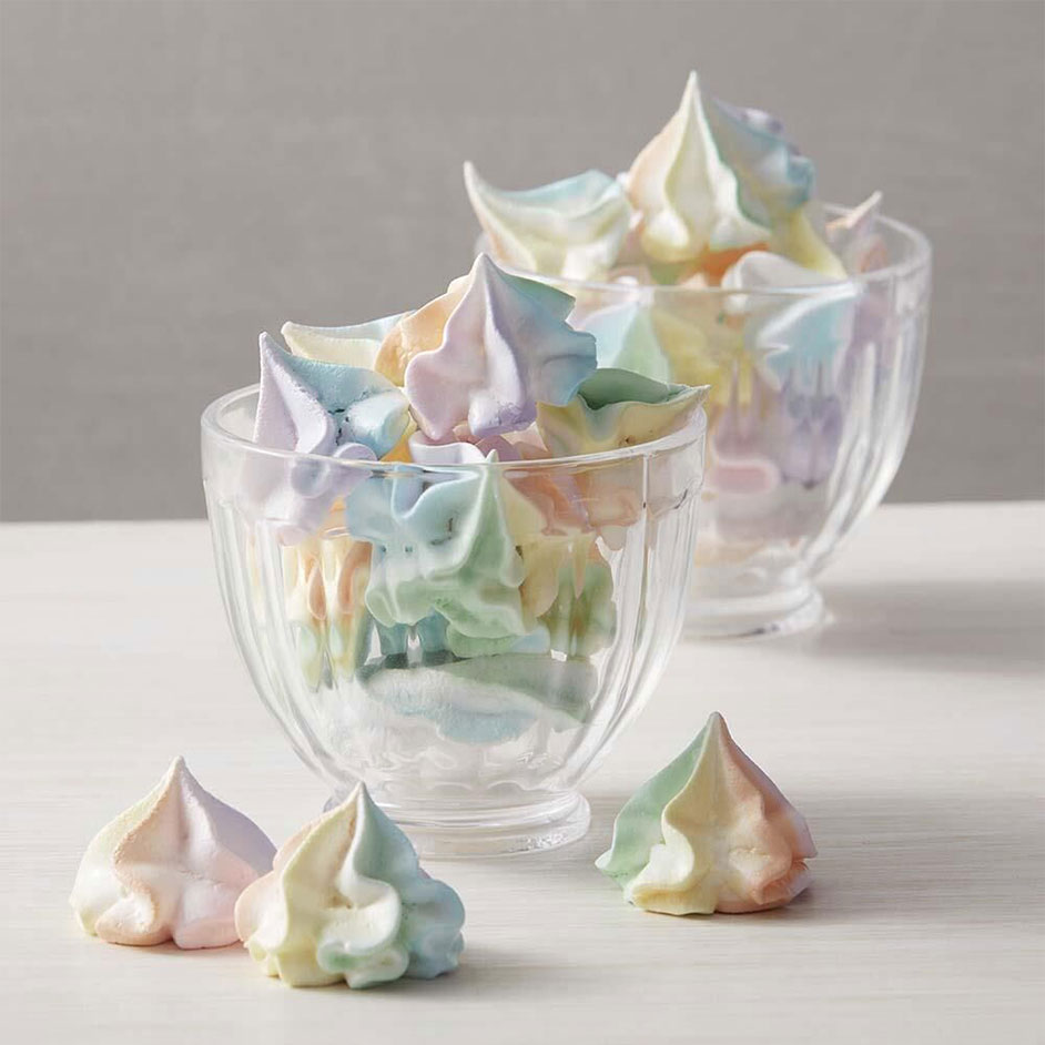 Colourful Kiss Meringues Project